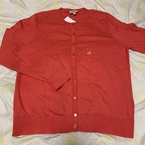Loft Coral Women's Cardigan Size: L Mew With Tag